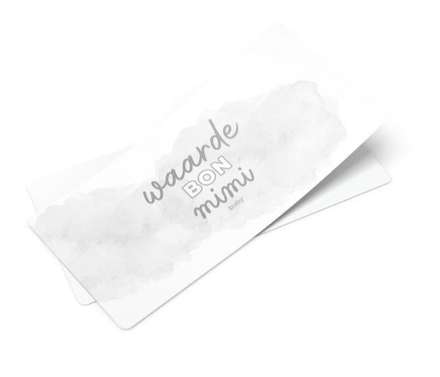 Waardebon - 15 euro