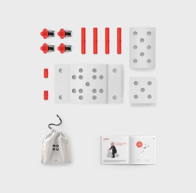Modu - Curiosity Kit Red
