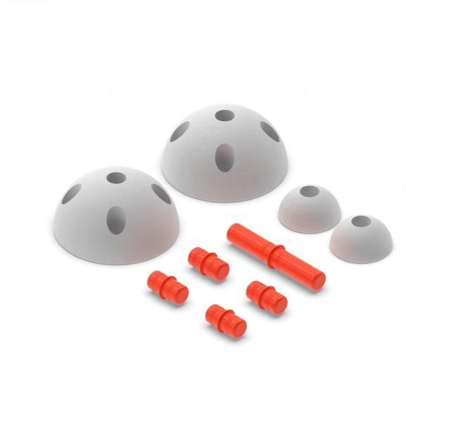 Modu - Half Ball Kit Red