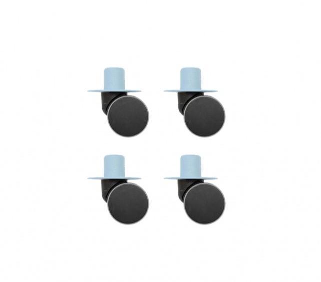 Modu - Zwenkwielen x4 Blue