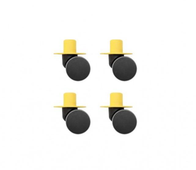 Modu - Zwenkwielen x4 Yellow