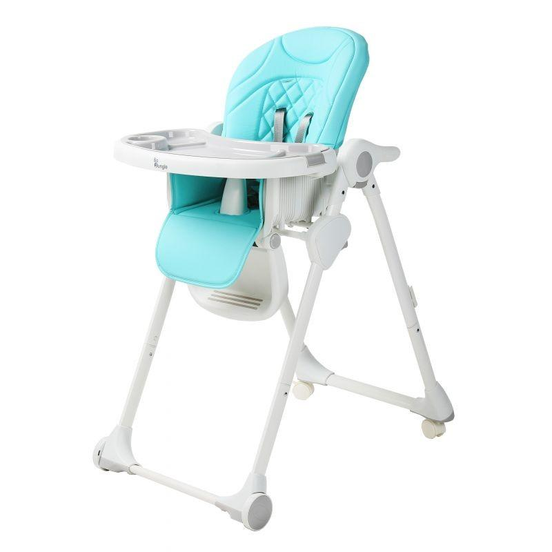 Bo Jungle - B-Dinner Chair Wheely Blue