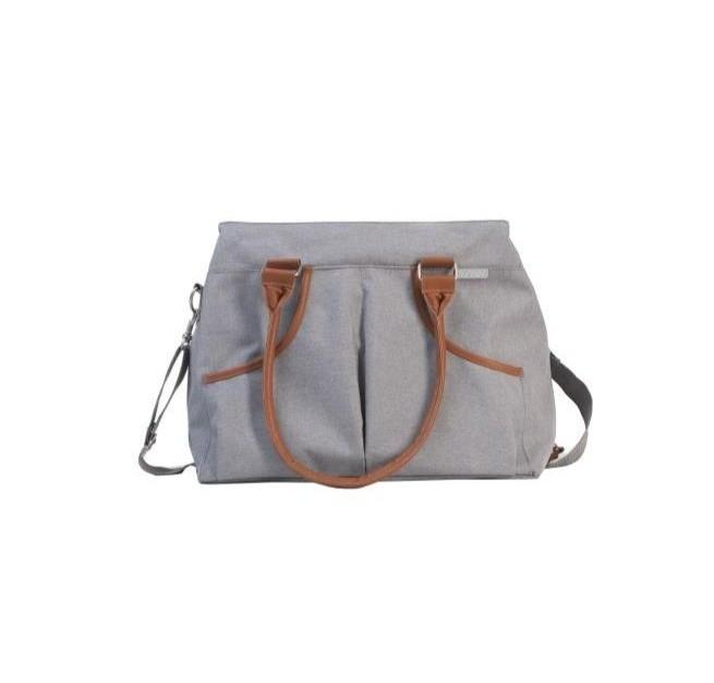 Bo Jungle - B-Casual Nursery Bag Light Grey