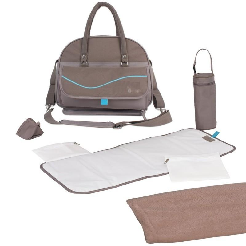 Bo Jungle - B-City Nursery Bag Taupe