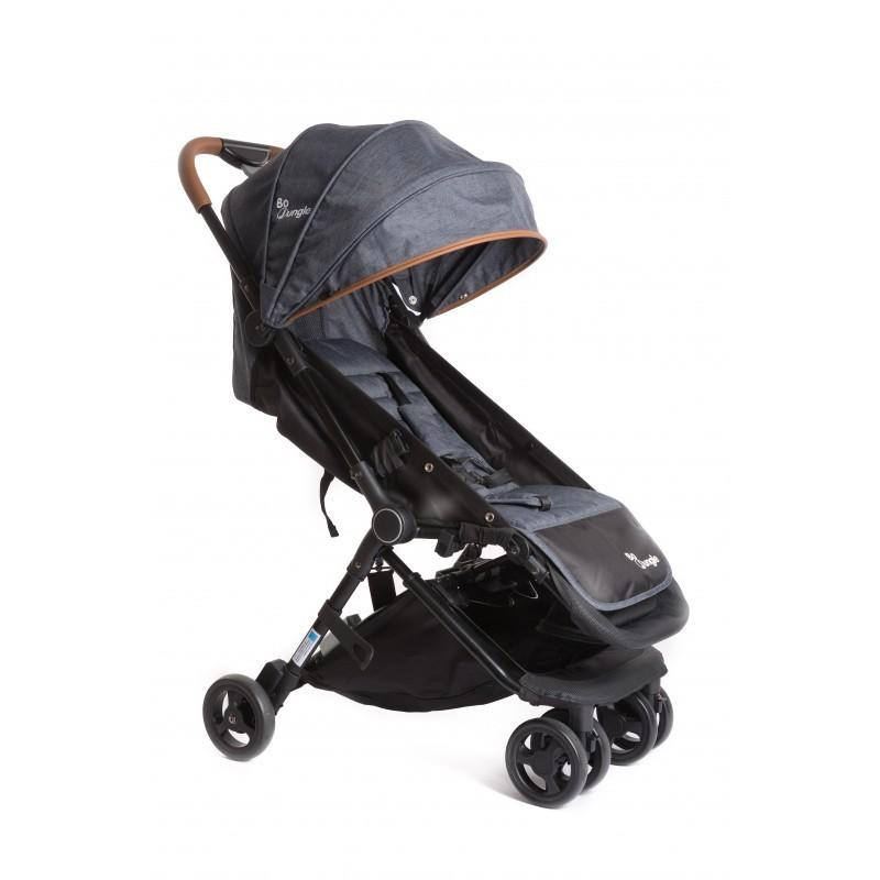 Bo Jungle - B-Genius Reversible Stroller Dark Grey