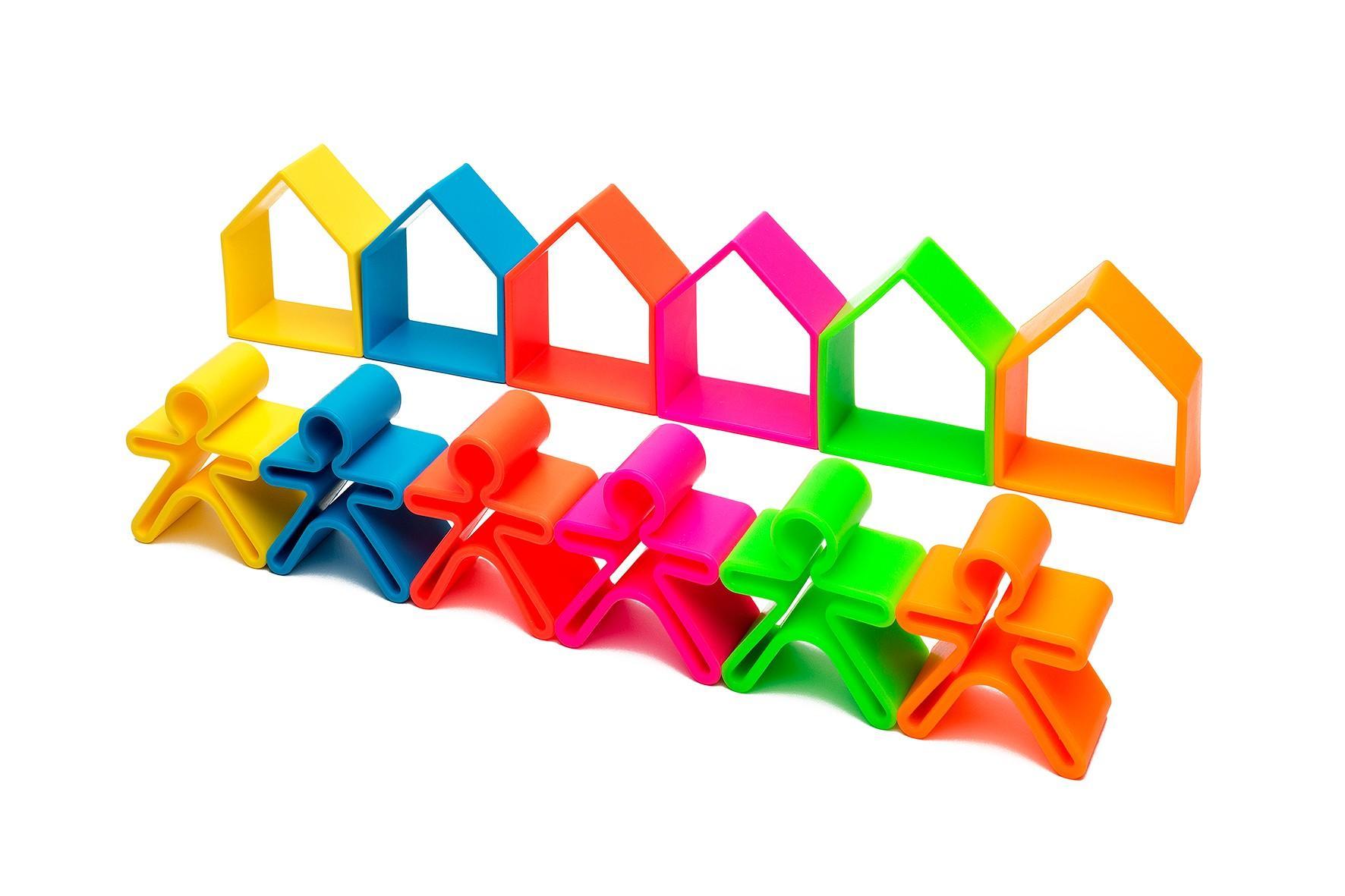 Dena - 6 Kids + 6 Houses Neon