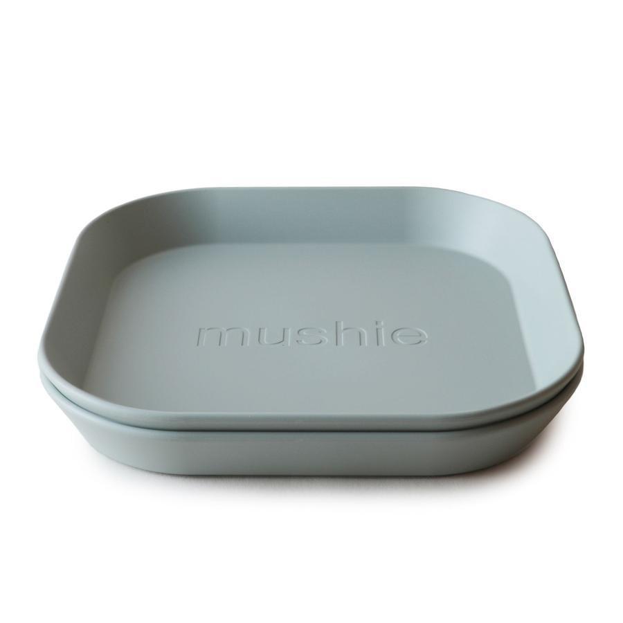 Mushie - Bord Vierkant Sage (2 Pcs)