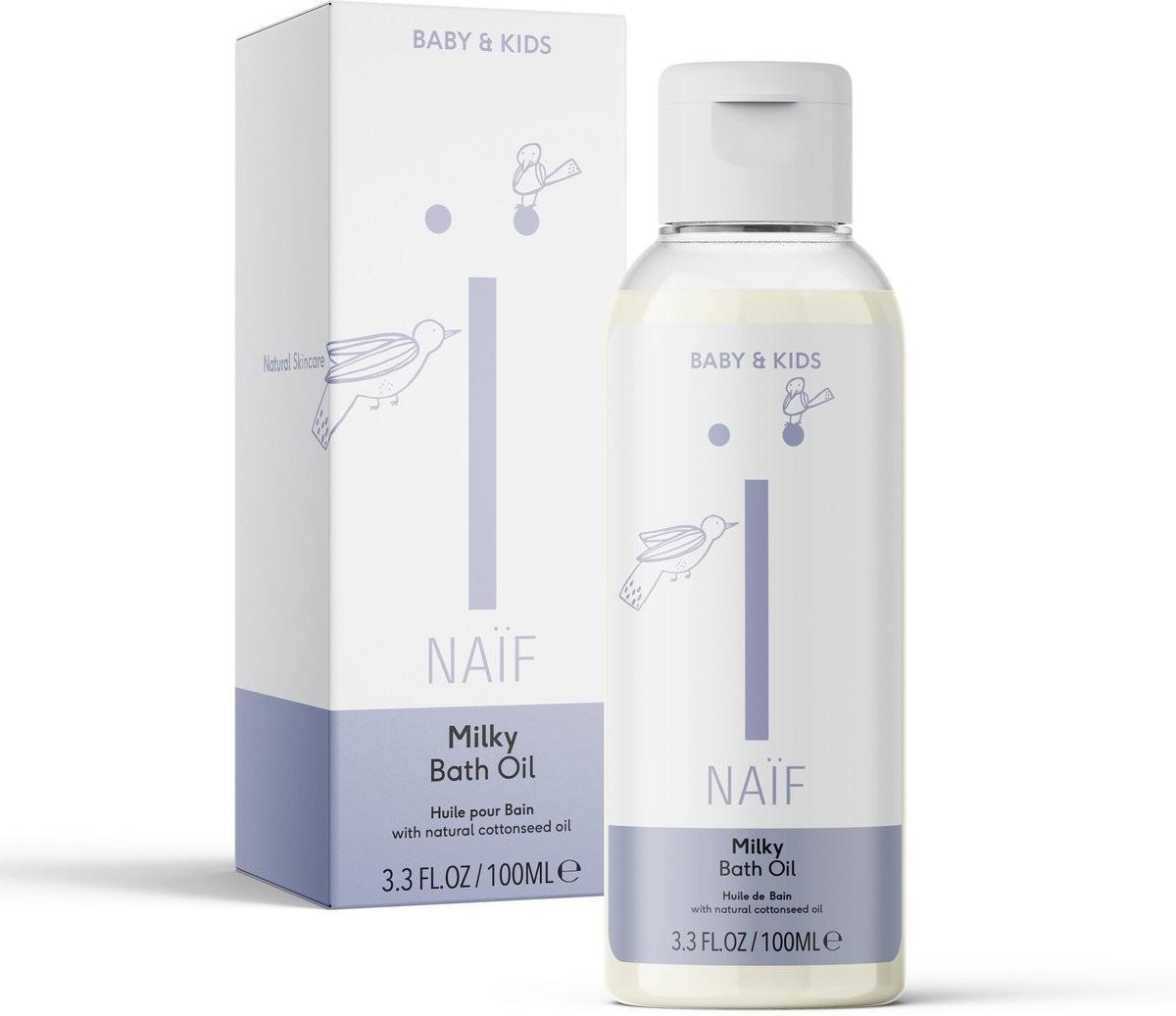 Naif - Milky Bath Oil 100ml