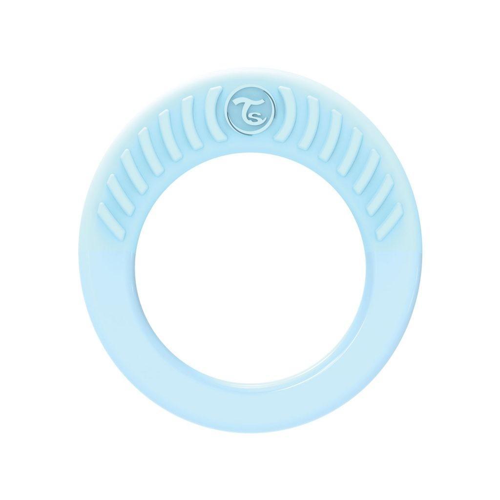 Twistshake - Bijtring Pastel Blauw