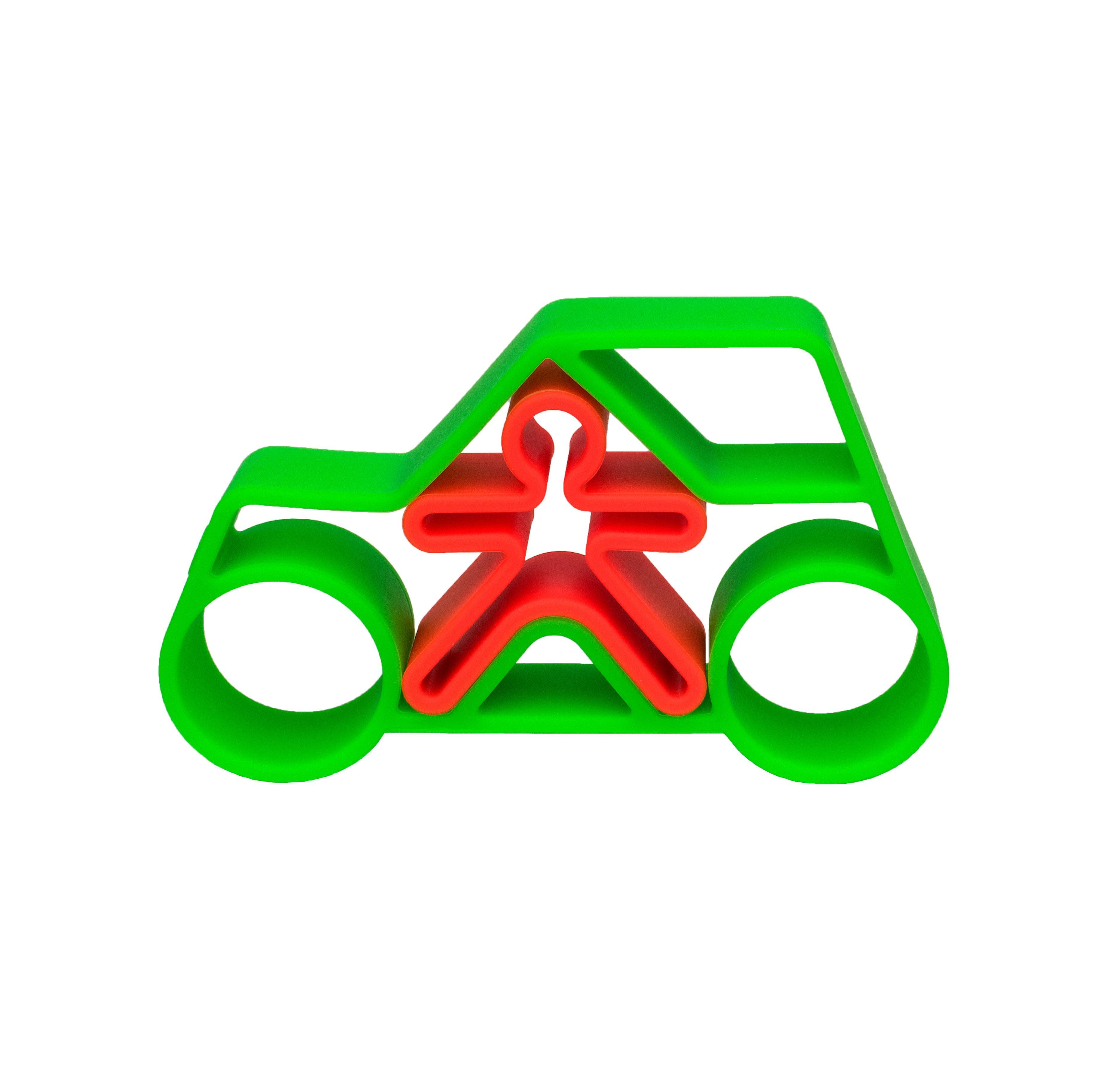Dena - 1 Car + 1 Kid Green Neon