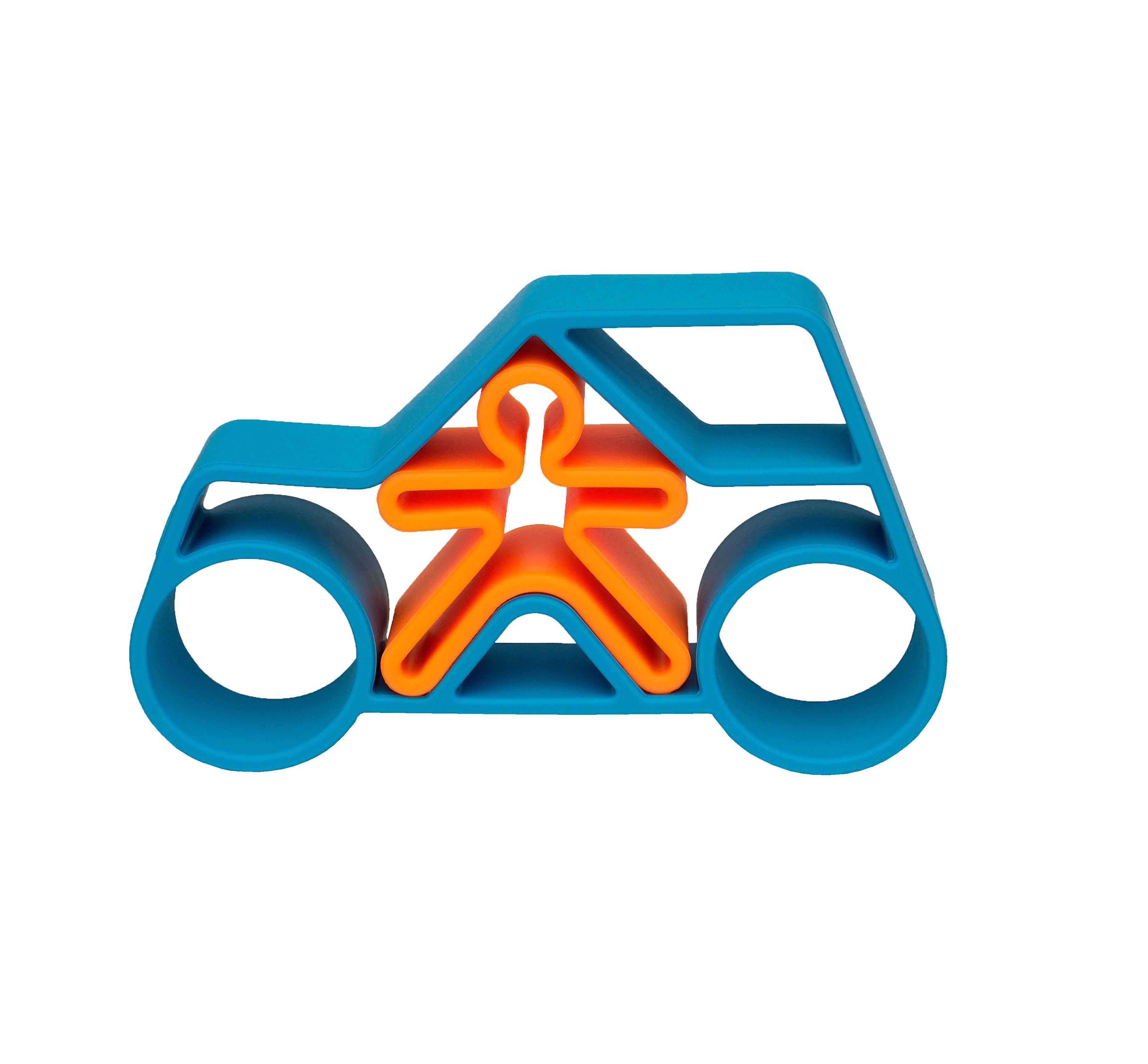 Dena - 1 Car + 1 Kid Blue Neon