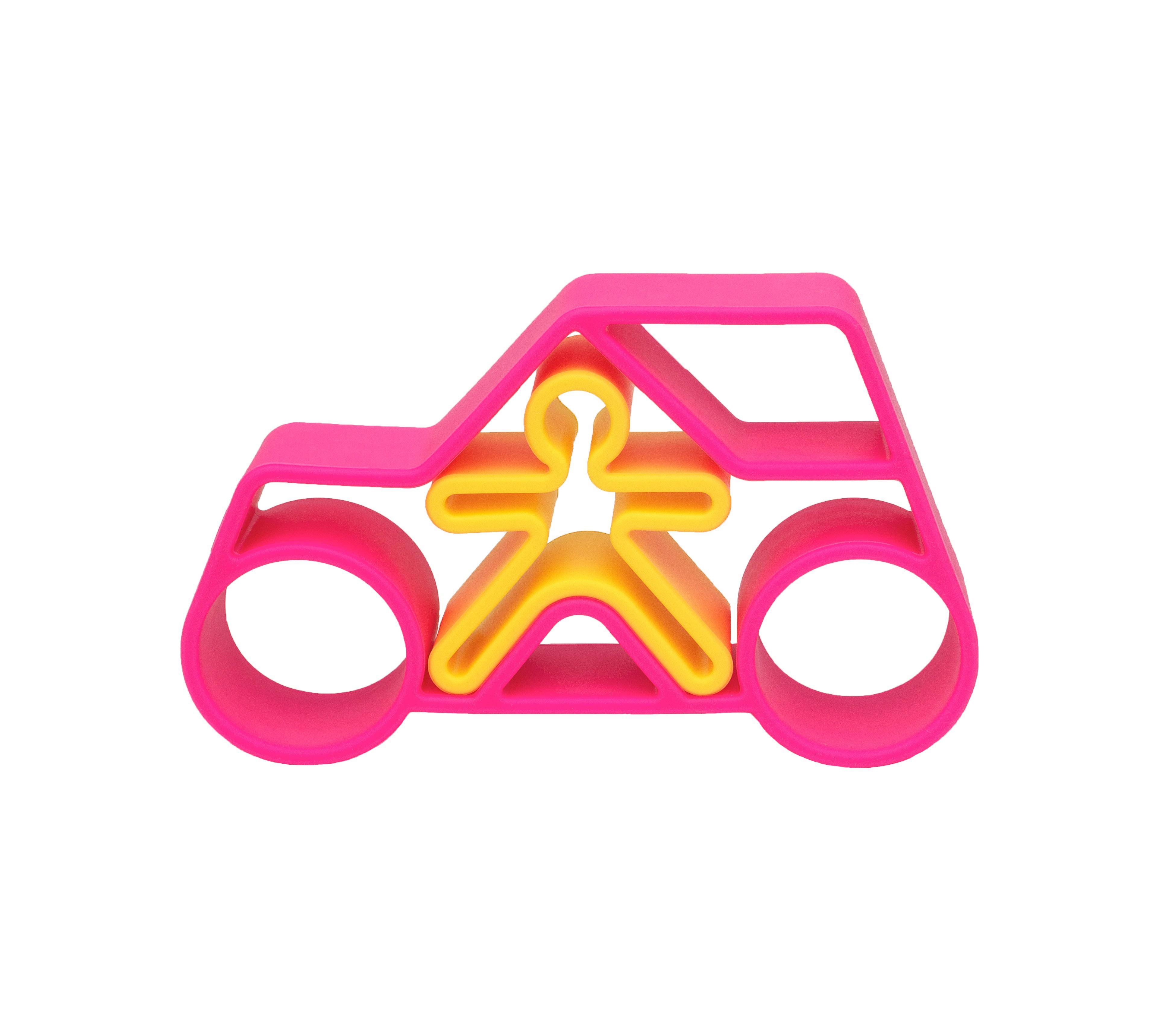 Dena - 1 Car + 1 Kid Pink Neon