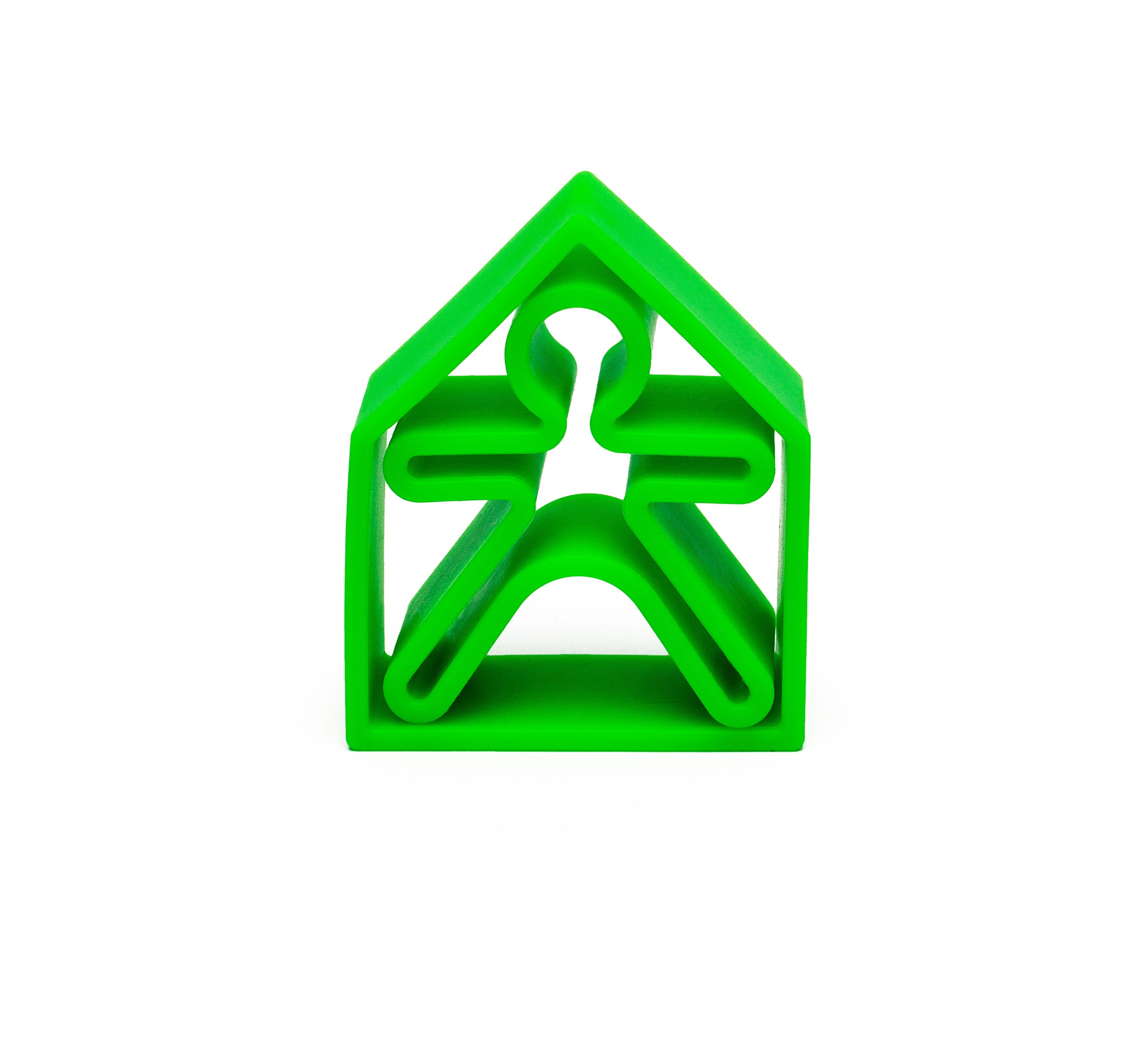Dena - 1 Kid + 1 House Green Neon