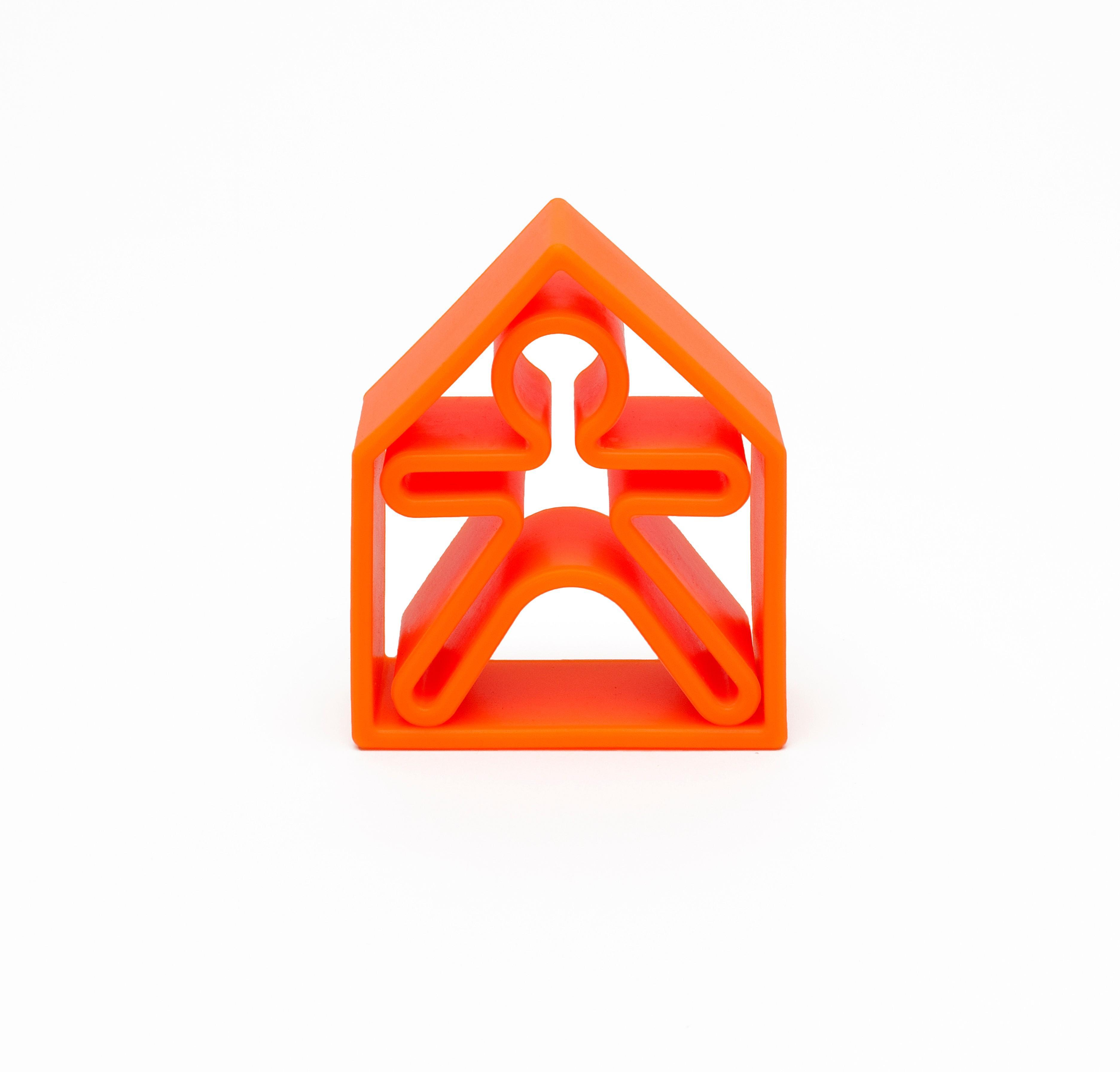 Dena - 1 Kid + 1 House Orange Neon
