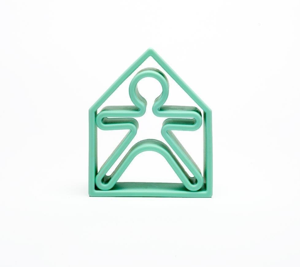 Dena - 1 Kid + 1 House Soft Green Pastel