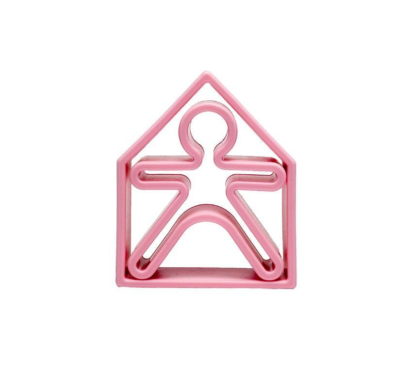 Dena - 1 Kid + 1 House Soft Pink Pastel
