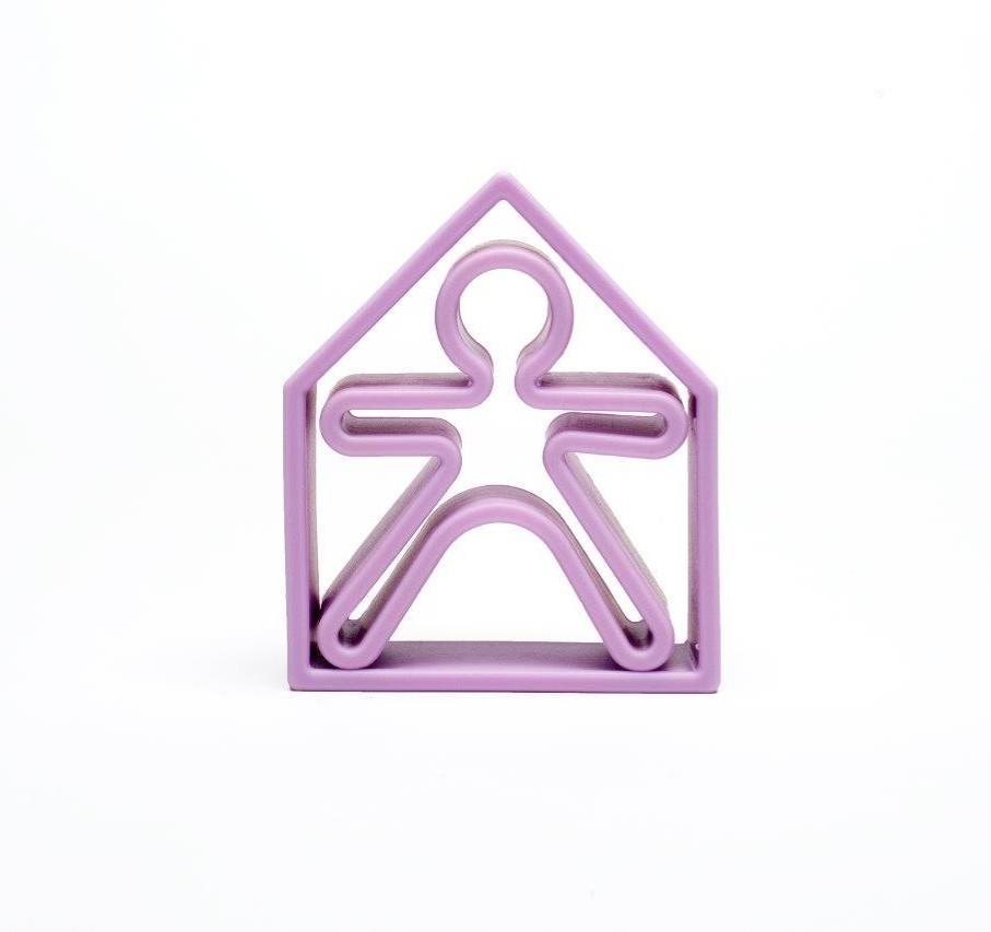 Dena - 1 Kid + 1 House Soft Violet Pastel