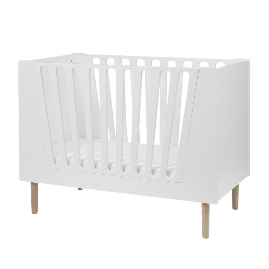 Done by Deer - Baby cot 60 x 120 cm White