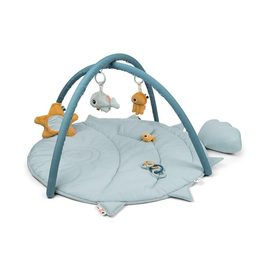 Done by Deer - Activity Play mat Sea friends Blue