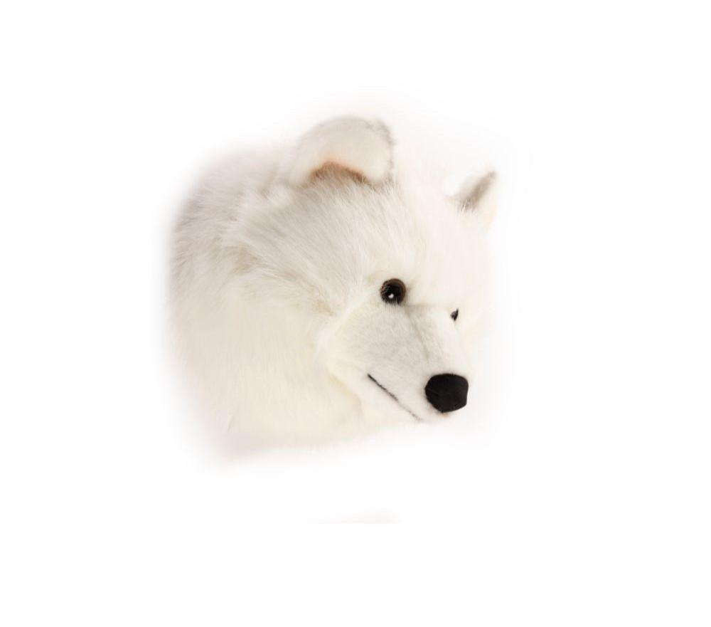 Wild & Soft - Kop witte wolf Lucy