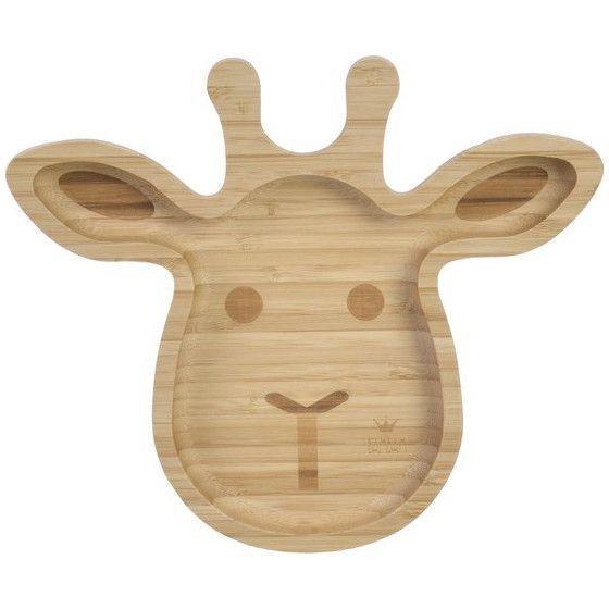 Bambam - Bamboo Giraffe Plate
