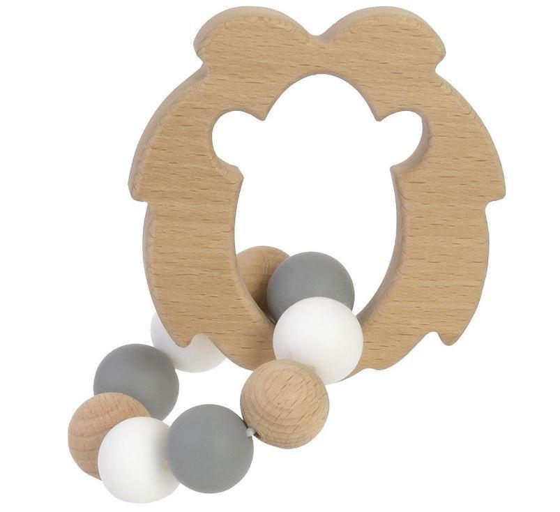 Bambam - FSC Wooden Lion Teether