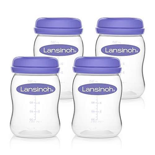 Lansinoh - Bewaarflesjes voor moedermelk 4x160ml