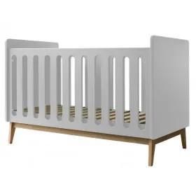 Pericles - Baby Bed 140X70Cm Style White Omvormbaar Tot Zitbank