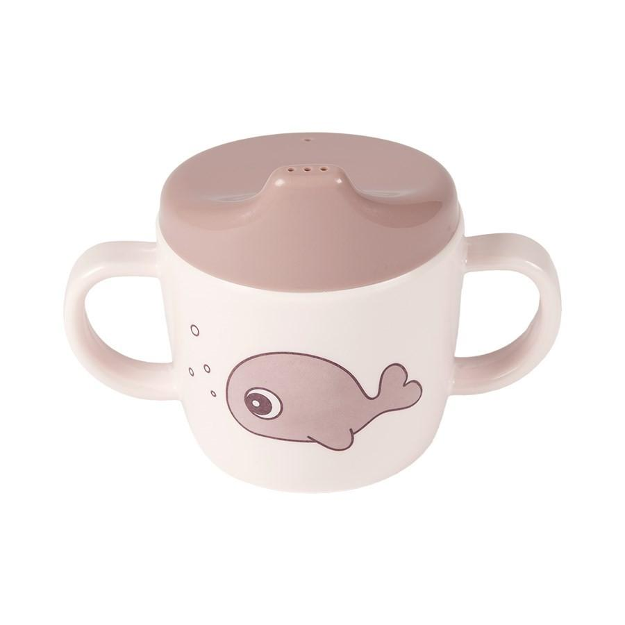 Done by Deer - 2-handle spout cup Sea friends Powder