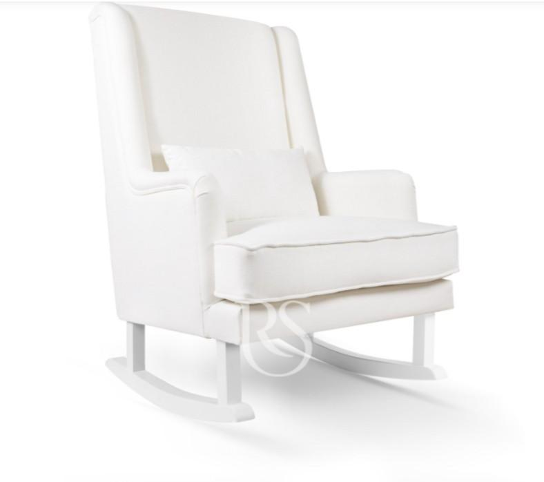 Rocking Seats - Bliss Rocker snow white, white legs