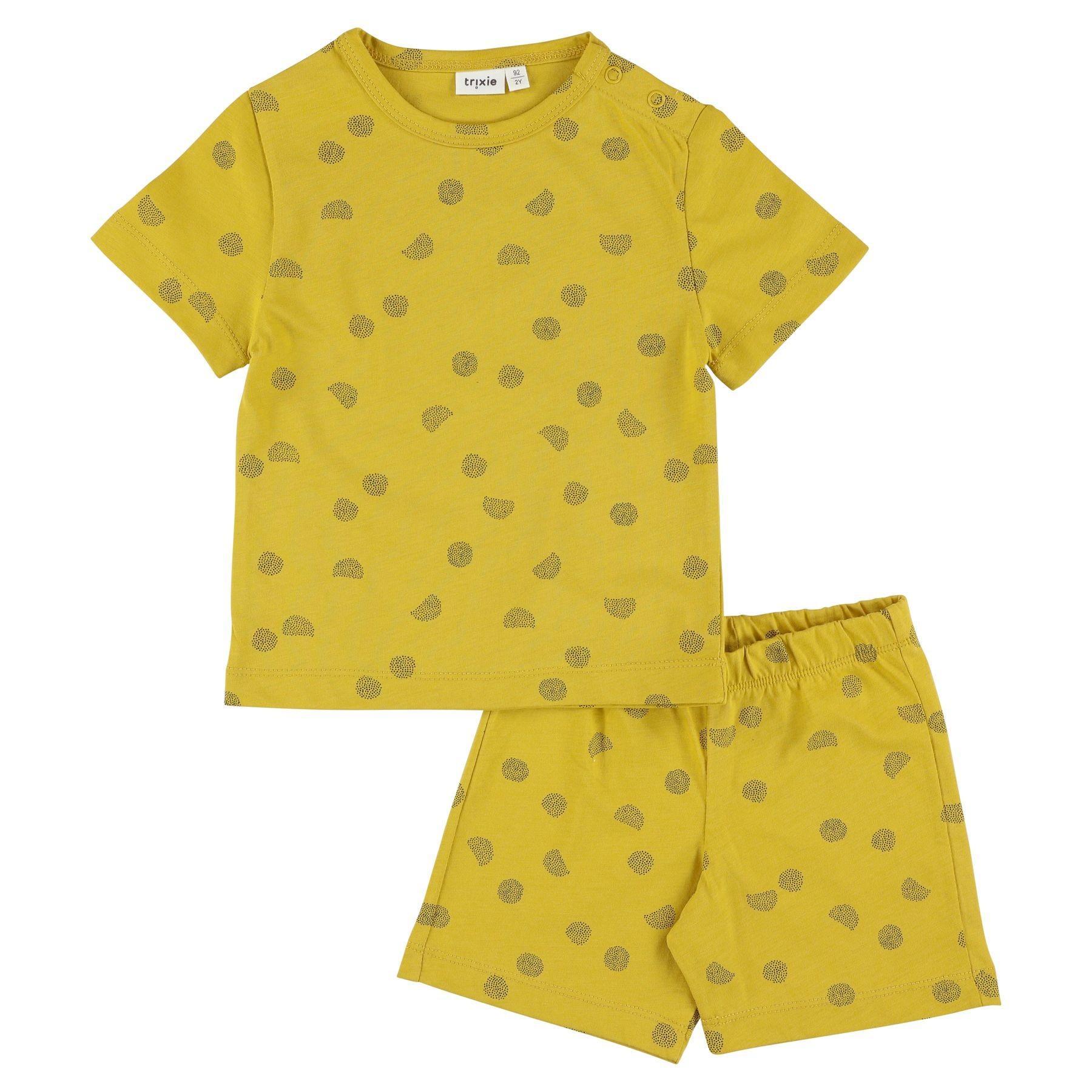 Trixie - 2-delige pyjama kort - Sunny Spots - 4Y