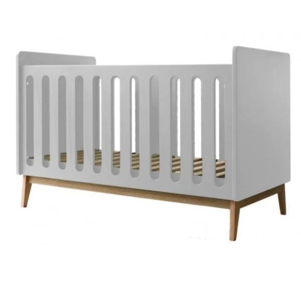 Pericles - Baby Bed 140X70Cm Omvormbaar Tot Zitbank Pure Wit