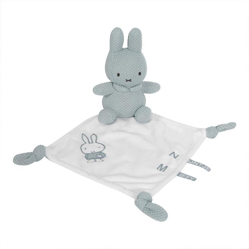 Nijntje - Miffy - Knuffeldoekje Nijntje Green Knit
