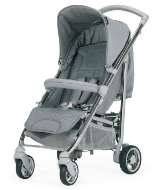 Bebecar - Spot+ Platinum Grey/Chrome-Topogrey A911