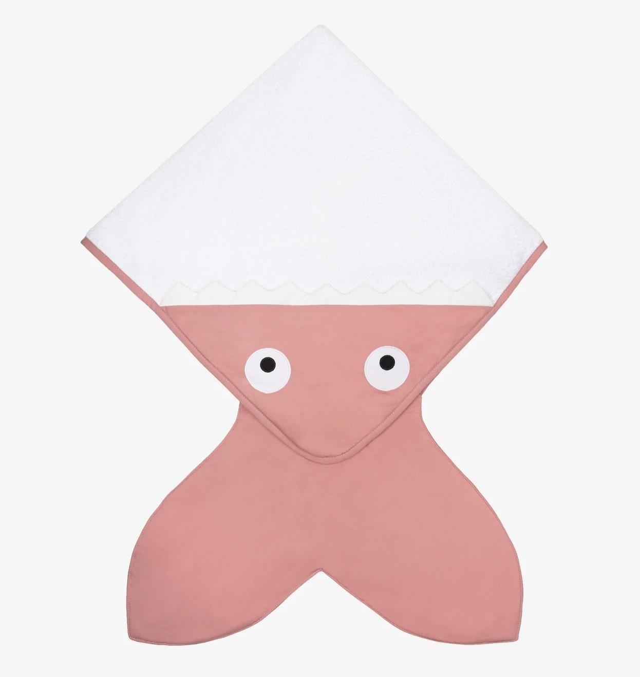 Baby Bites - Handdoek 75X75cm - Pink