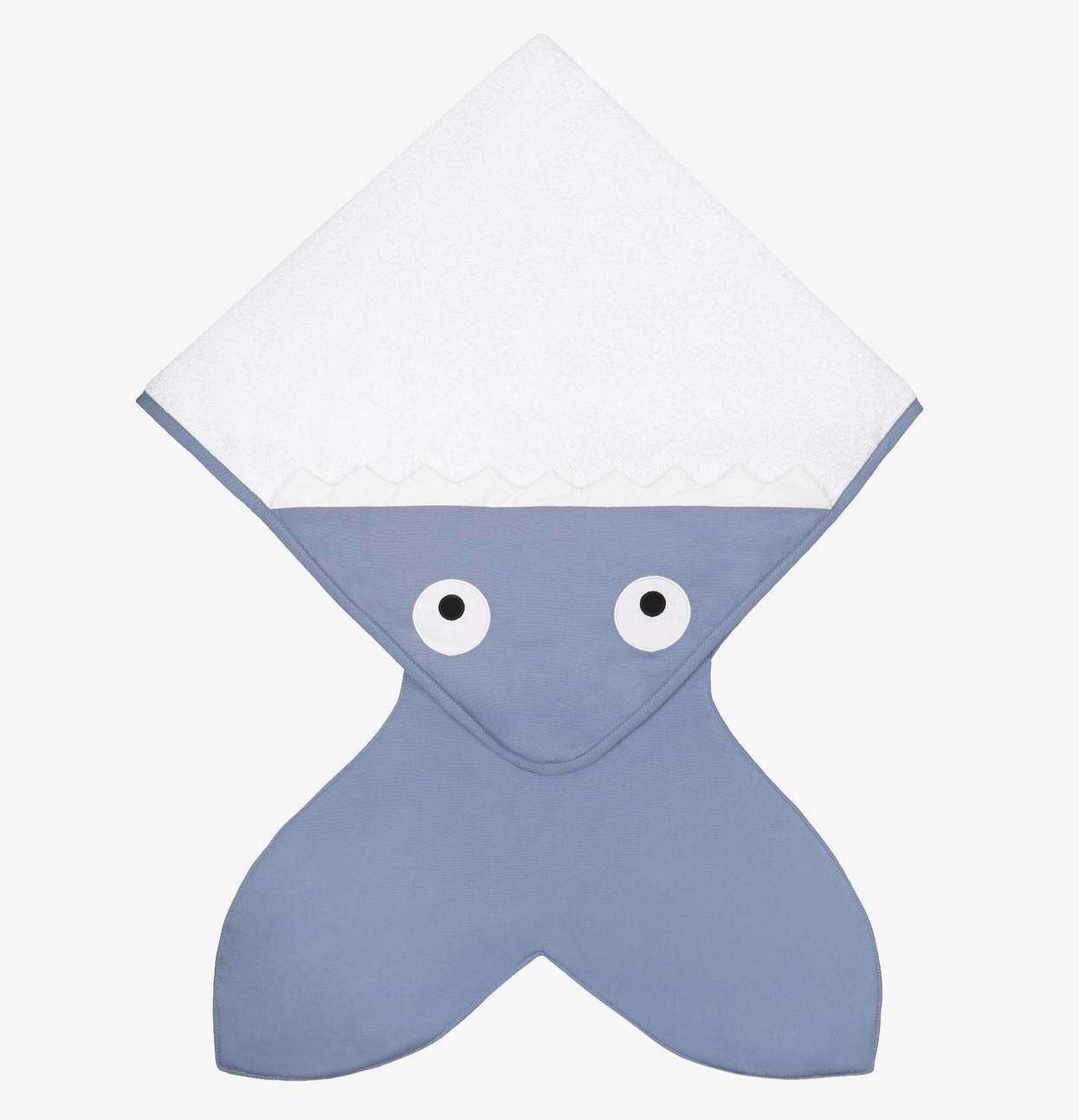 Baby Bites - Handdoek 75X75cm - Slate Blue