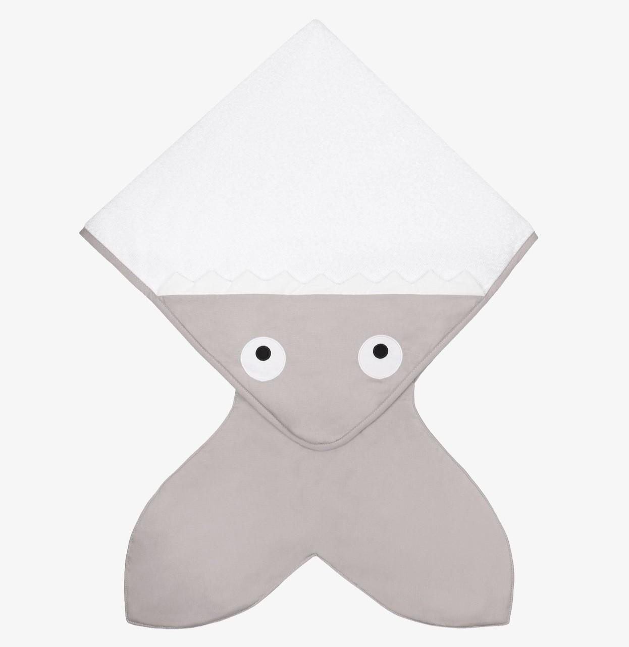 Baby Bites - Handdoek 75X75cm - Stone