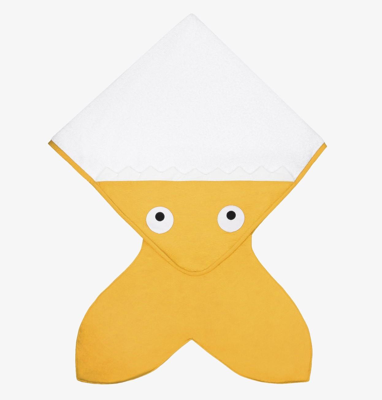 Baby Bites - Handdoek 75X75cm - Yellow Mustard