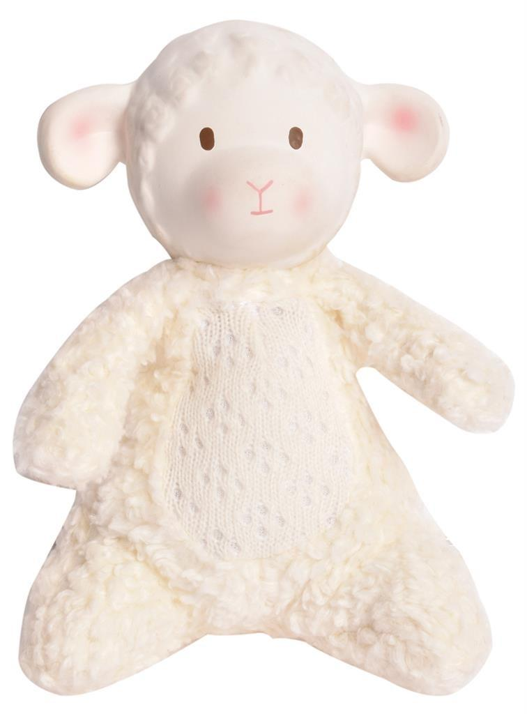 Tikiri - Lila Het Lammetje: Lammetje - Soft Toy Met Hoofdje 15cm