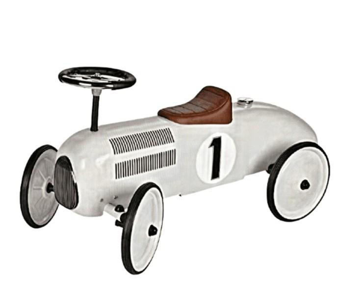 Goki - Loopauto: Wit, vanaf 1 jaar