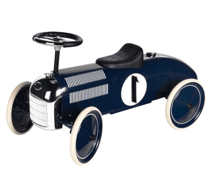 Goki - Loopauto: Marineblauw Nr1, vanaf 1 jaar