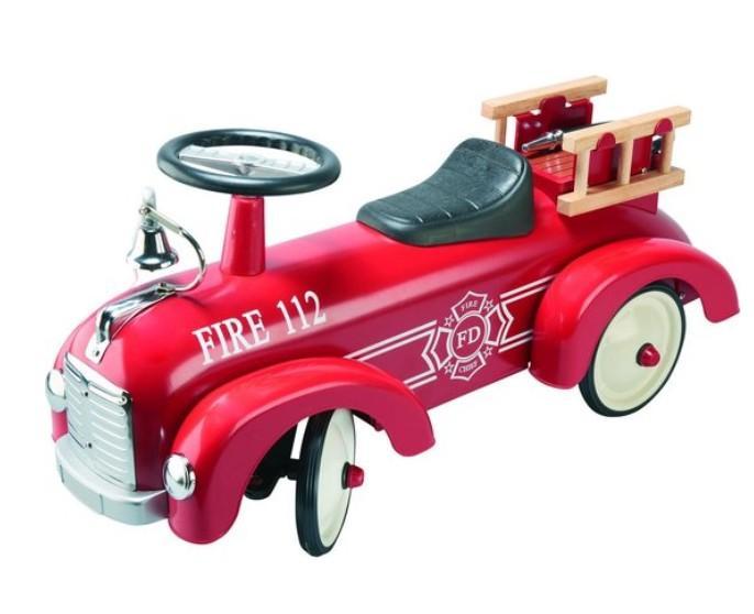 Goki - Loopauto: Brandweerwagen, Nr1 Rood, vanaf 1 jaar