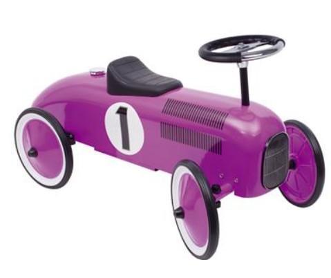 Goki - Loopauto: Lila Met Nummer 1, vanaf 1 jaar
