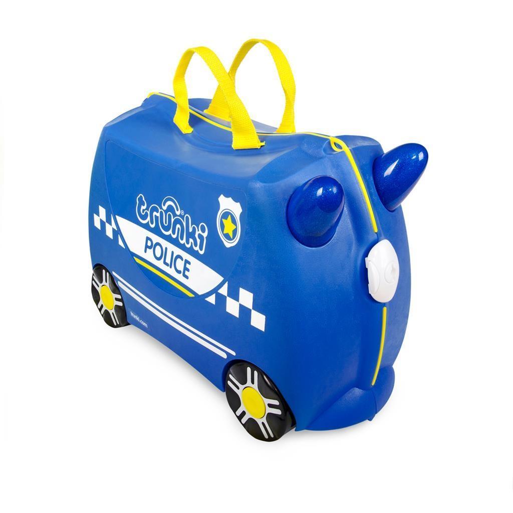 Trunki - Ride-On: Politiewagen Percy Met Stickers, vanaf 3 jaar