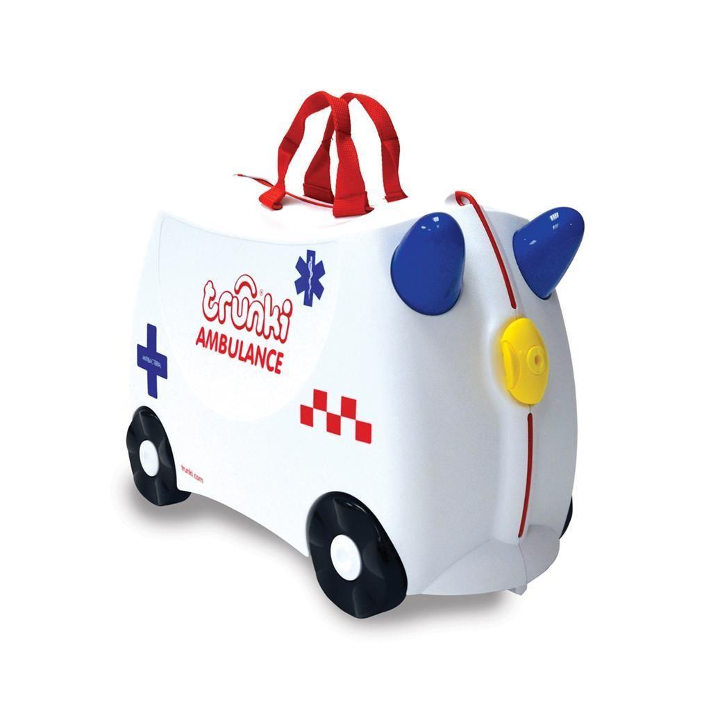 Trunki - Ride-On: Ambulance Abbie, Stapelbaar, Vanaf 3 jaar