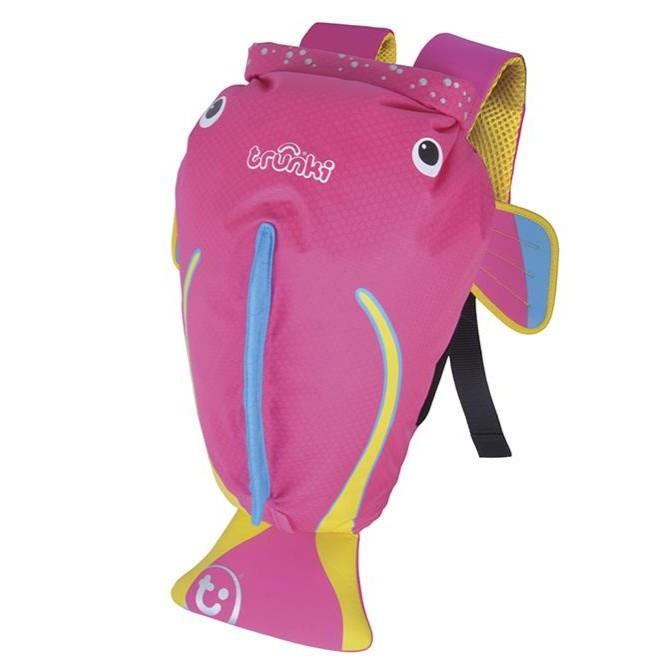 Trunki - Paddlepak Medium: Zwemzakje Vis Roze (Coral)