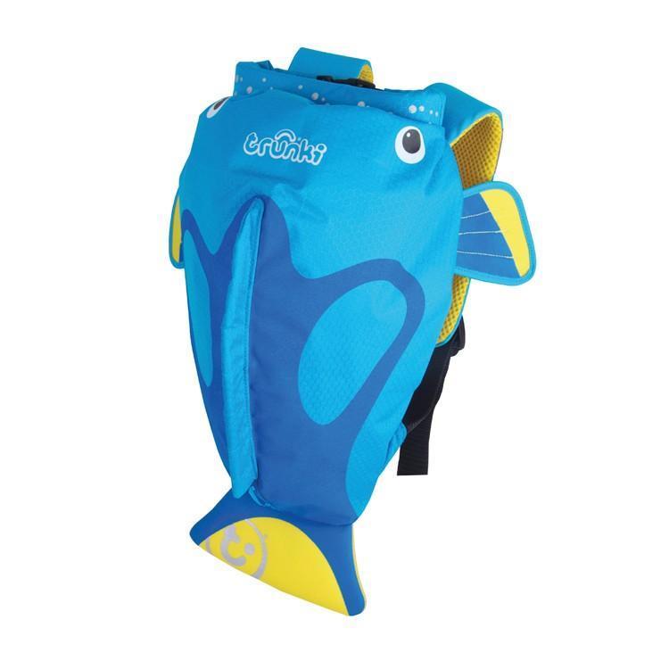 Trunki - Paddlepak Medium: Zwemzakje Vis Blauw (Tang)