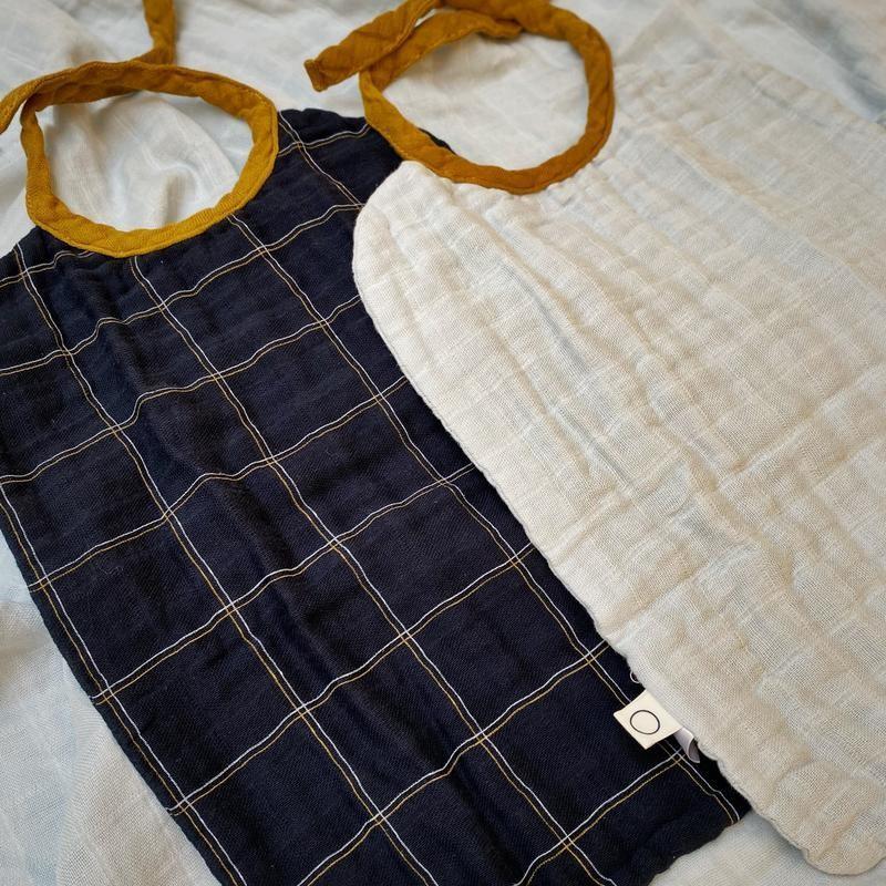 Coco & Pine - Bibs Alfie 2 Pack Light Blue/Alfie Tetra Collection