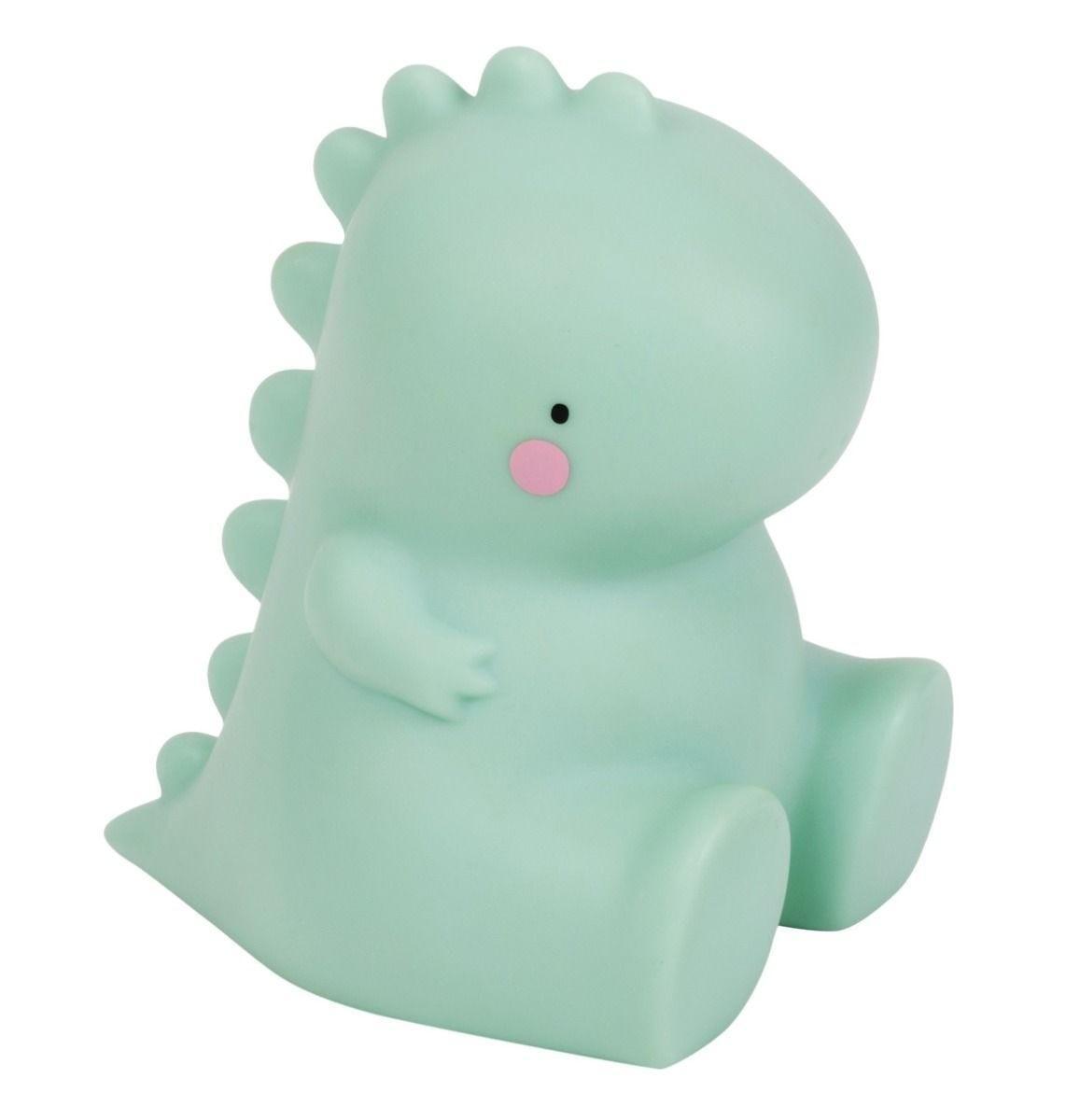 A Little Lovely Company - Little light: T-rex - green
