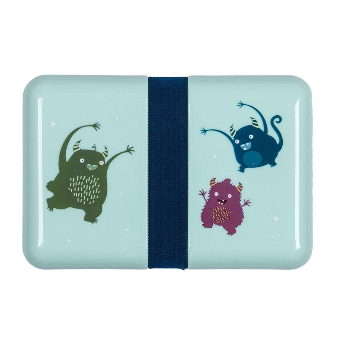 A Little Lovely Company - Lunch box: Monsters